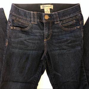 Democracy Jeans Dark Wash w/ Ab Technology Size 4